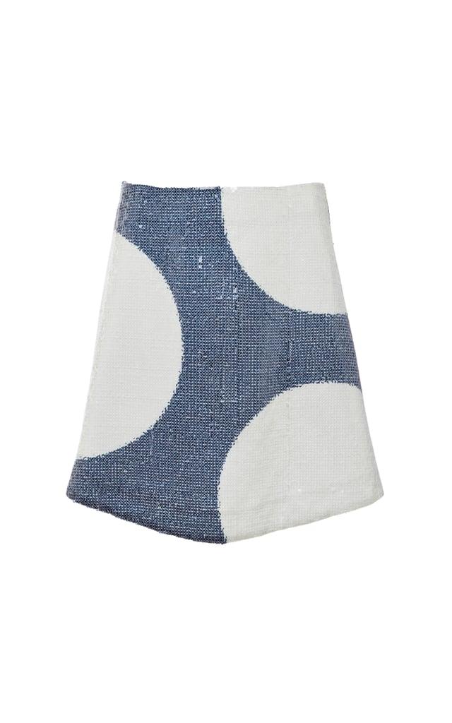 Suno Sequined Mini Skirt Sequin Polka Dots