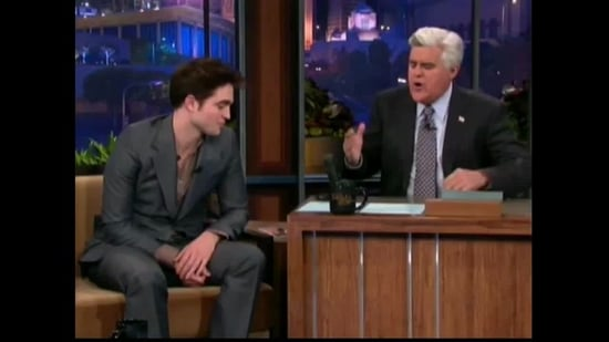 Video of Robert Pattinson on The Tonight Show With Jay Leno 2011-03-19 08:38:55