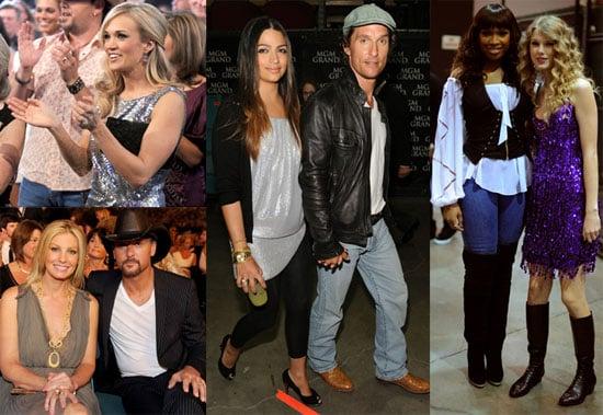 Photos of Matthew McConaughey, Faith Hill, Jennifer Hudson, Tim McGraw, And Taylor Swift Celebrating Brooks & Dunne