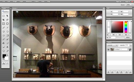 Edit Photos Online with Splashup