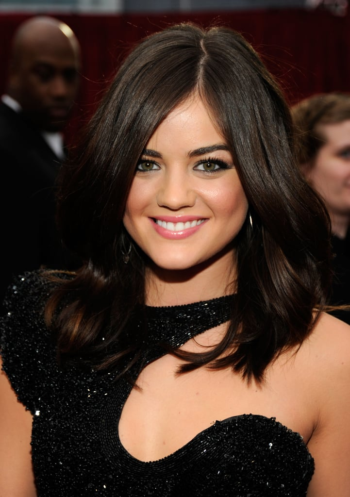 Lucy Hale at the People's Choice Awards.