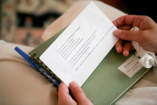 Planning on writing your own vows? Très has some great tips to try.