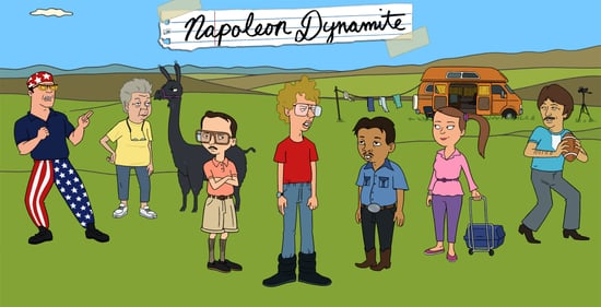 First Picture From Napoleon Dynamite Animated Series
