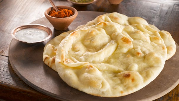 For the Freezer: Naan Pizza Dough