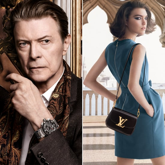 David Bowie Stars in Louis Vuitton Campaign | Pictures