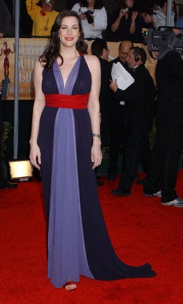 Liv Tyler at the 2004 SAG Awards