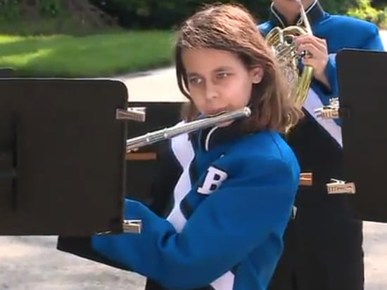 School Band Surprises Flutist Recovering from Kidney Transplant with a Special Performance Outside Her Front Door