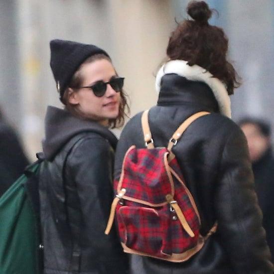 Kristen Stewart and Soko in Paris March 2016