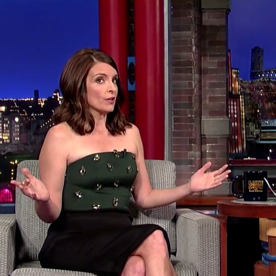 Tina Fey Interview With David Letterman 2014
