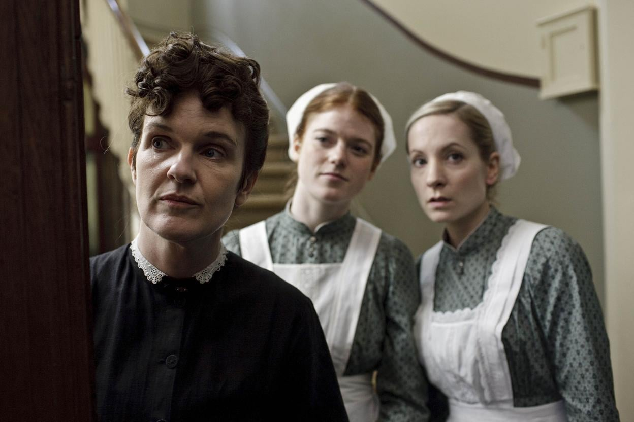 The average ladies' maid in an estate such as Downton Abbey would pay the equivalent of $3,000 or less in today's dollars. What's more, each maid was expected to purchase and maintain her own uniform. Source: ITV