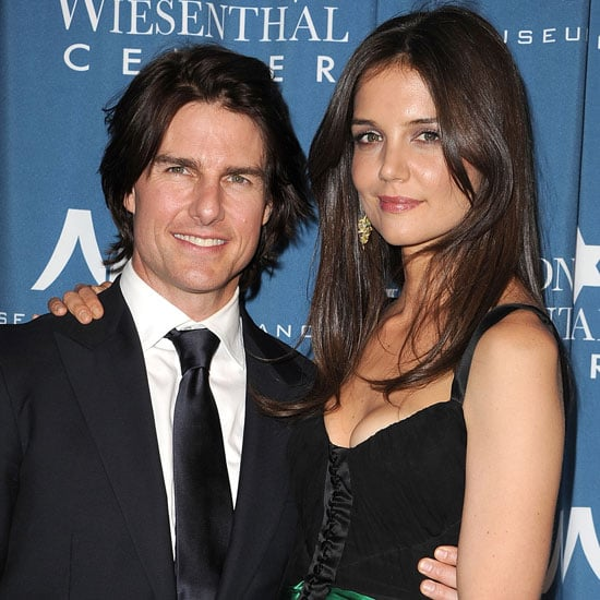 Tom Cruise and Katie Holmes Pictures at the Wiesenthal Center Tribute