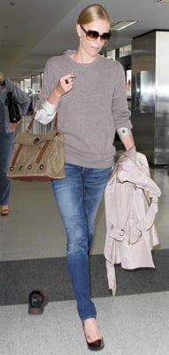 Charlize Theron Travel Style