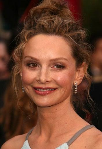 Calista Flockhart at the Oscars: hair and makeup