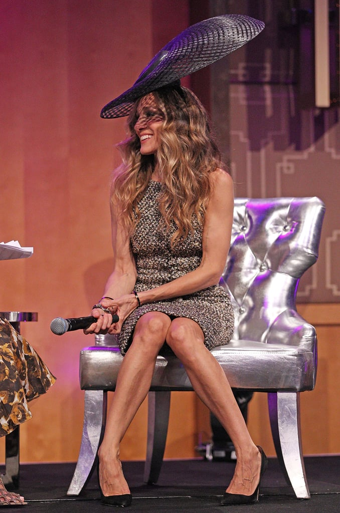 Sarah Jessica Parker at the VCR Oaks Club Ladies Luncheon in Melbourne.