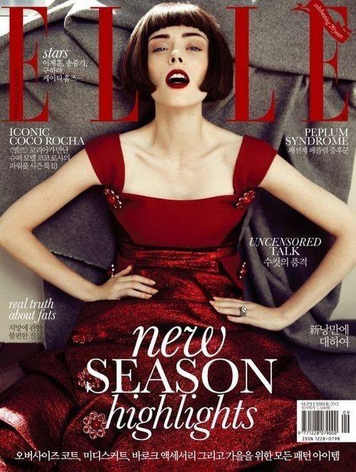 Elle Korea September 2012