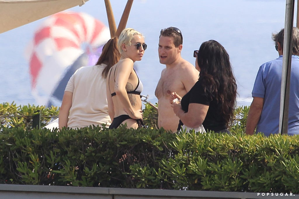 Miley Cyrus Goes Topless During a Wild Weekend in Spain