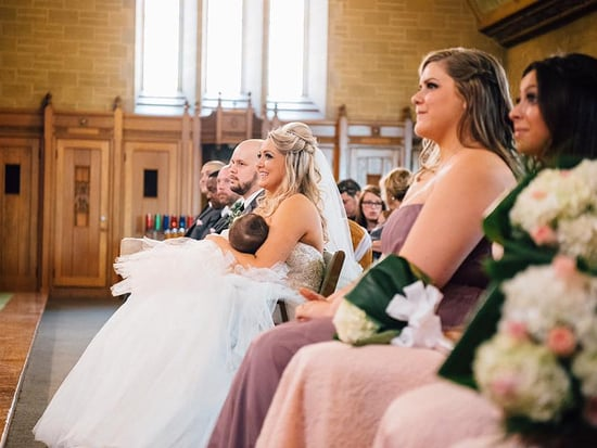 Bride Breastfeeds Her Daughter During Her Wedding Ceremony: 'She Needed Me, So I Was There'