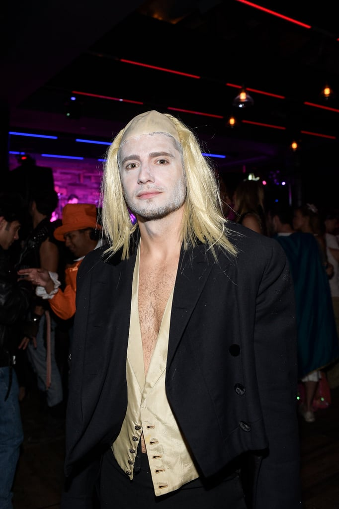 At Matthew Morrison's Halloween Party in 2014, Julian Morris showed up as Riff Raff.