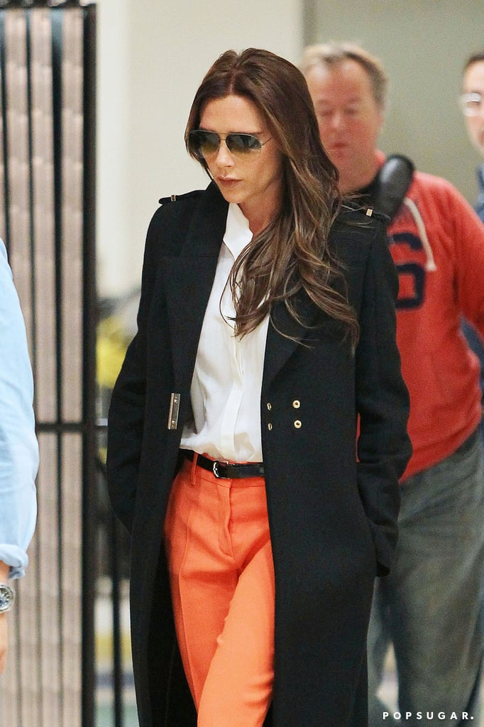 Victoria Beckham Brightens Up the Big Apple on a Gloomy Day