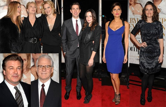 Photos of Meryl Streep, Alec Baldwin, and Steve Martin at the NYC Premiere of It's Complicated 2009-12-10 06:00:00