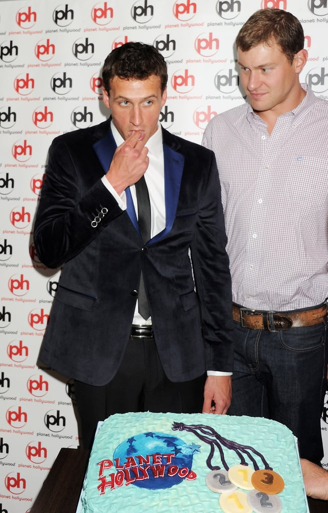 Ryan Lochte celebrated his 28th birthday after he wrapped up racing at the 2012 Olympic Games.