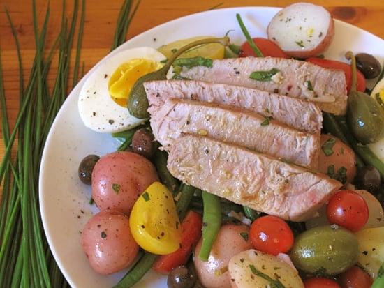 Classic Recipe For Seared Tuna Nicoise Salad