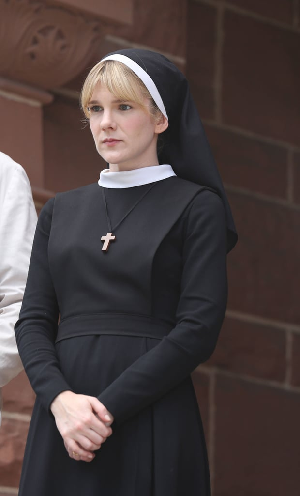 Rabe as Sister Mary Eunice in Asylum
