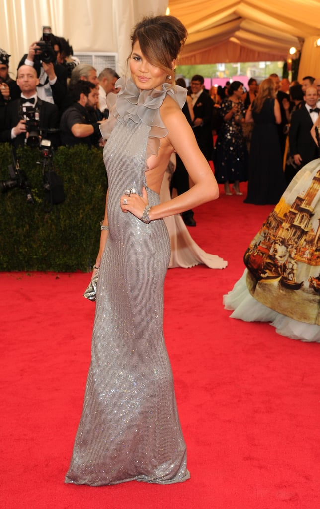 Chrissy Teigen at the Costume Institute Ball