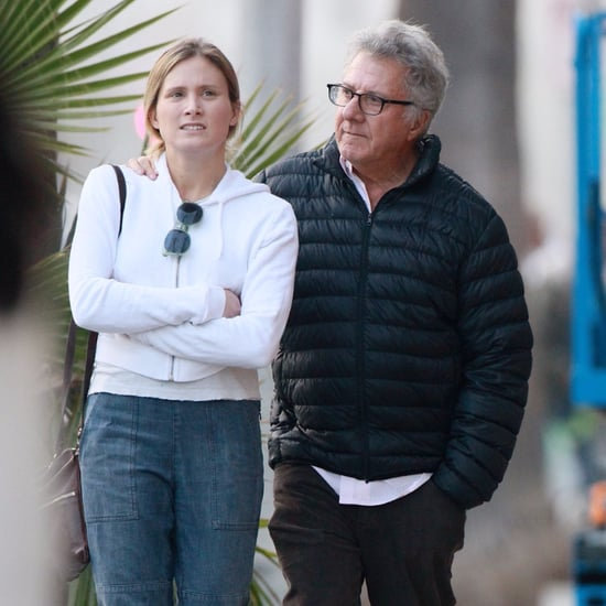 Dustin Hoffman Walking With Daughter December 2015