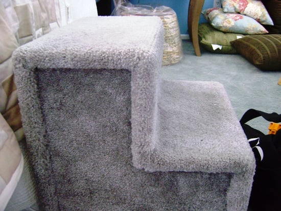 Before and After: Peruvian Pet Stairs