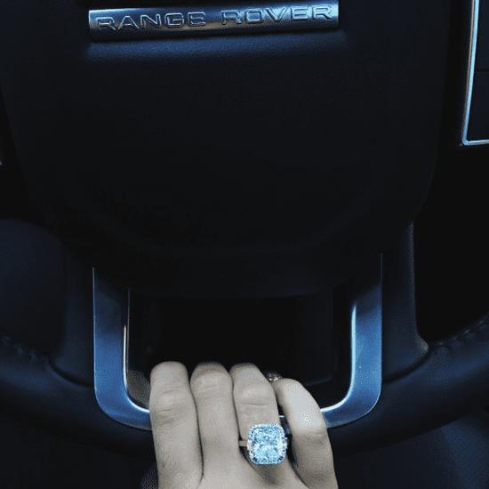 Kylie Jenner's Diamond Ring