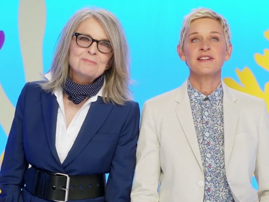 Watch Finding Dory's Ellen DeGeneres and Diane Keaton Share an Adorable Mother's Day Message