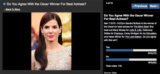 Do You Agree With the Oscar Winners? Sound Off in My Polls!