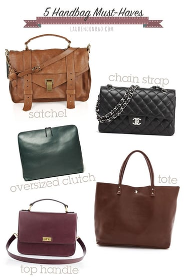 Lauren Conrad's Bag Must-Haves For Fall 2012
