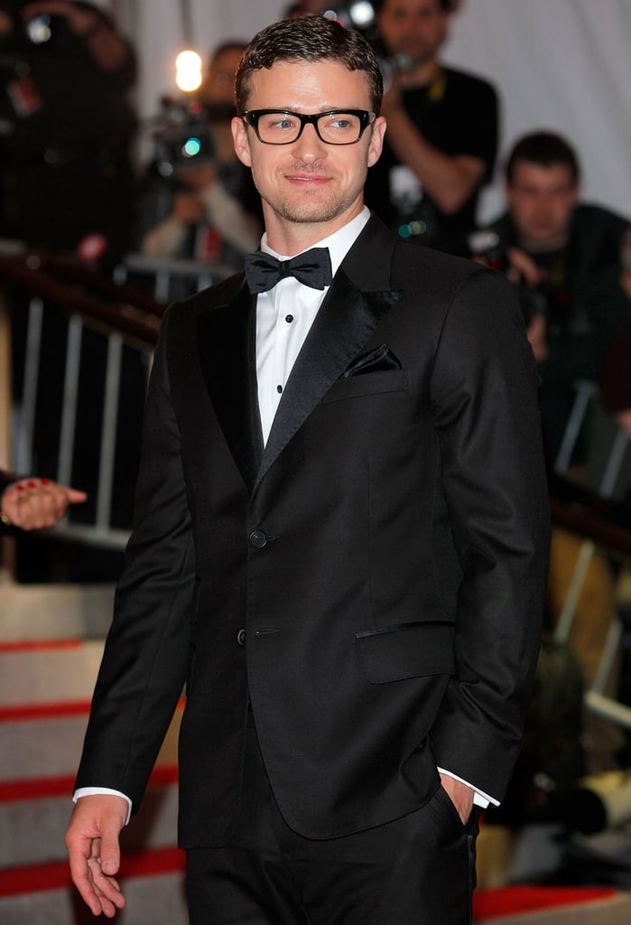 When he went all fashion-y for the 2009 Met Gala.