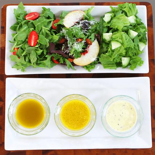 Mason Jar Salad Dressings