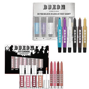 Enter to Win a Buxom Do You Believe in Love at First Sight? Mini Eyeliners Set and City Slickers Lip Colors 2010-11-24 23:30:00