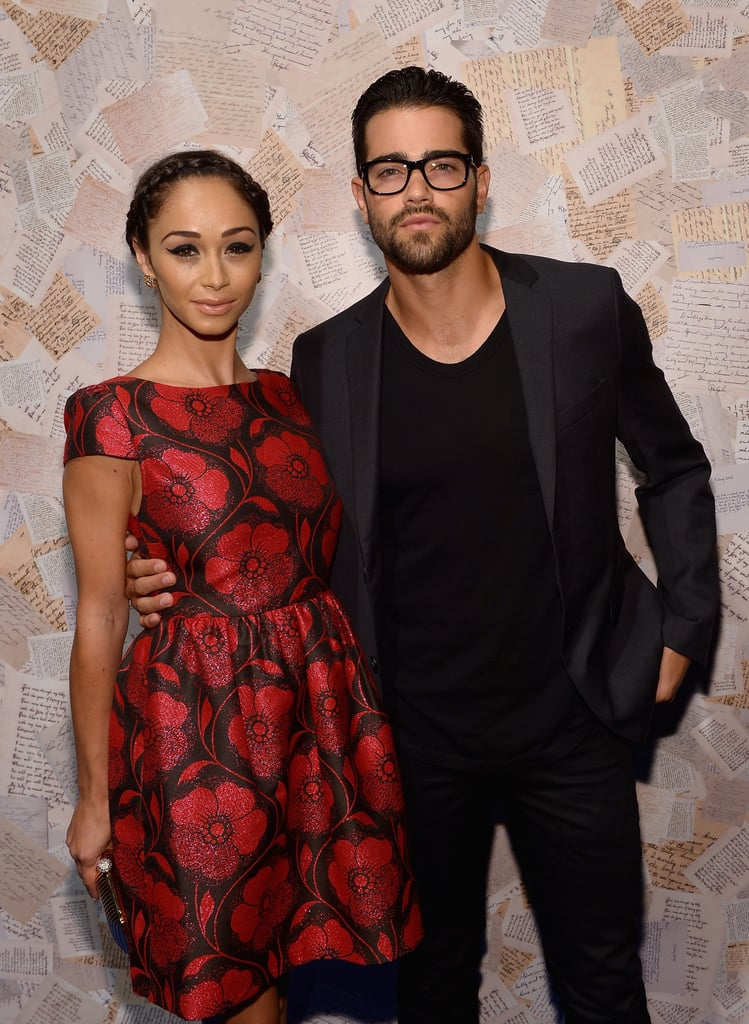 Jesse Metcalfe and Cara Santana made a cute couple at the alice + olivia presentation during NYFW on Monday.