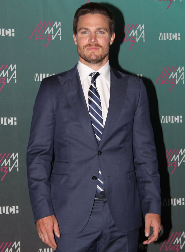 "Stephen Amell Amell made headlines when he said that he'd met with the studio about Fifty Shades, but noted that it was ""a long way off."" Not such a long way anymore, though, is it? We could still see the Arrow star as Christian — he has the physique and a sexy sense of humor."