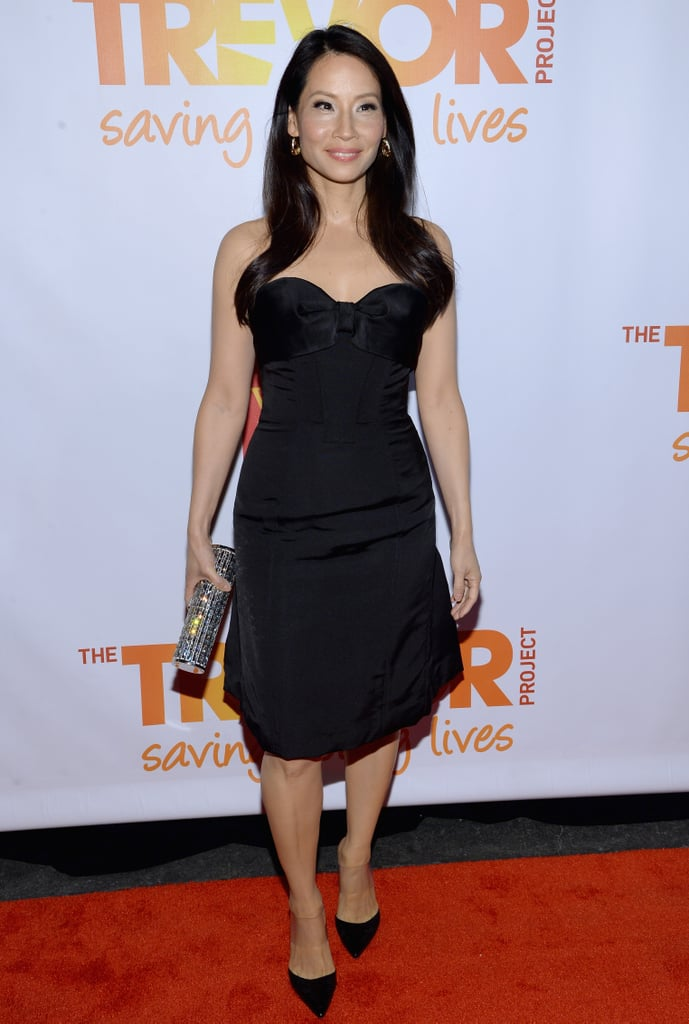 Lucy Liu wore an LBD.