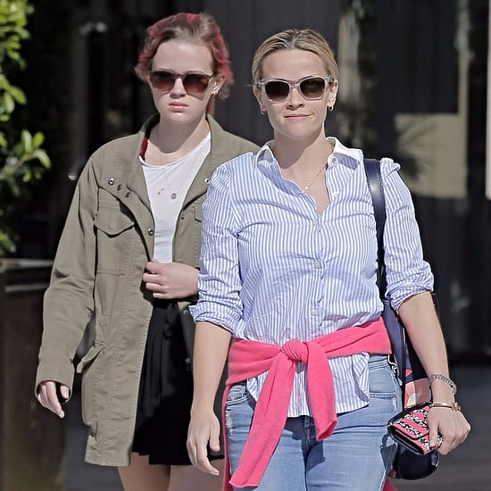 Reese Witherspoon and Ava Phillippe Getting Juice in LA