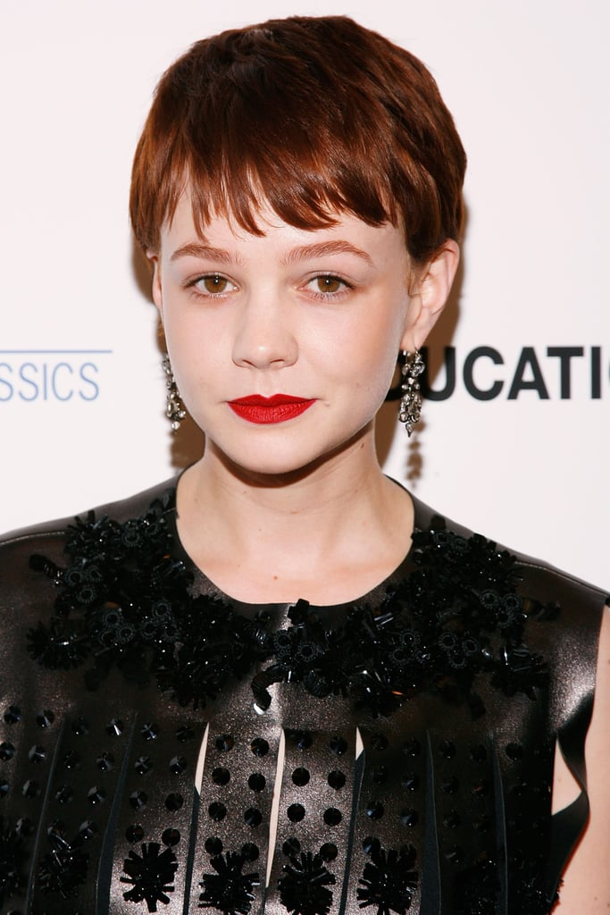 carey mulligan hair pictures popsugar beauty
