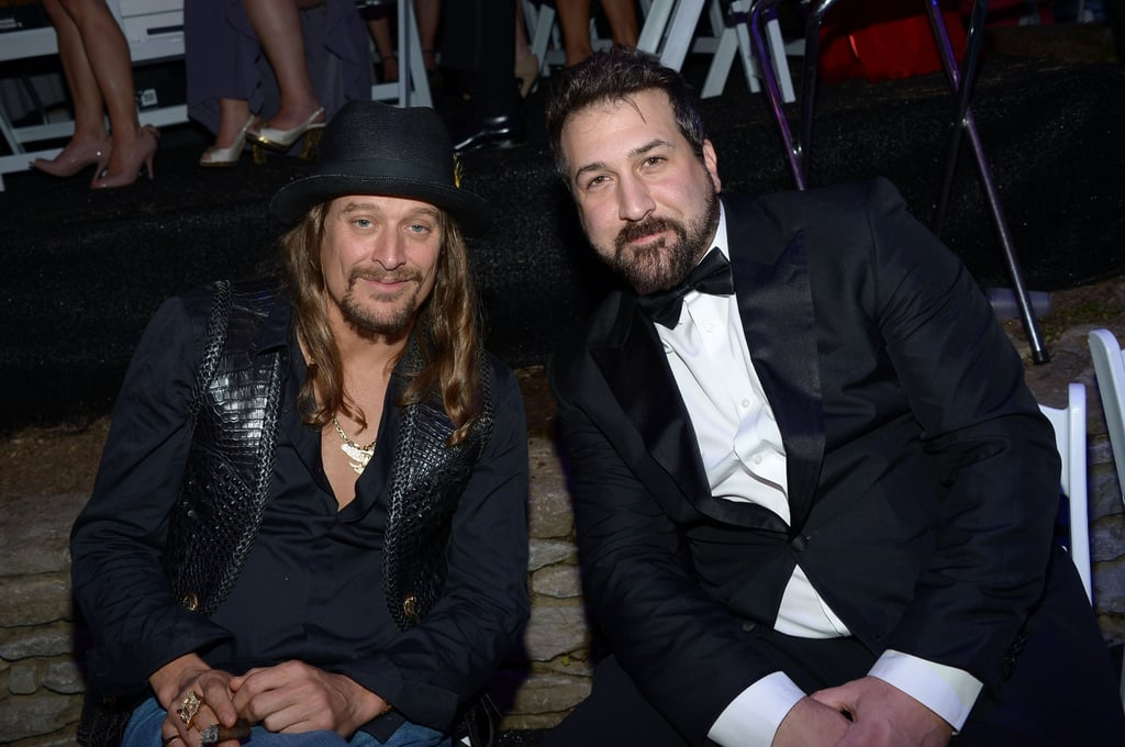 Kid Rock and Joey Fatone dressed up for the Barnstable Brown Gala on Friday.