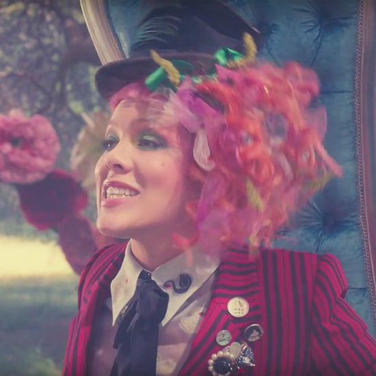 """Pink's Alice in Wonderland-Inspired """"Just Like Fire"""" Video Features Her Whole Family"""