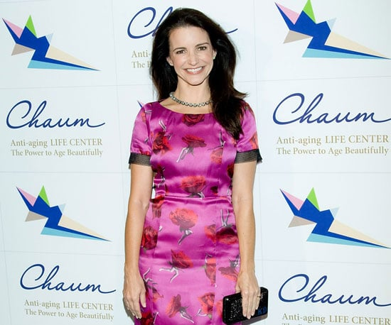 Slide Picture of Kristin Davis Attending a Party in Seoul