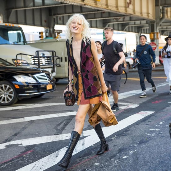 Street-Style Goals: Hanne Gaby Odiele Inspires Us To Go Bold
