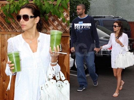 Eva And Tony Go Green...Tea
