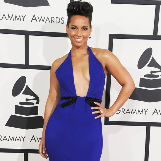 Alicia Keys's Dress at Grammys 2014