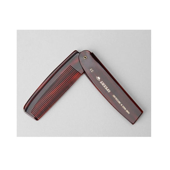 Speert's Fold-Away Comb ($17) provides a perfect way to tease, untangle, and tame a variety of hairstyles no matter where you are. Consider it your day-to-night beauty essential.  — JR