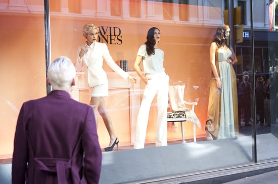 Pictures from Australia's Next Top Model David Jones Store Window Challenge Episode Four: See Behind the Scenes!